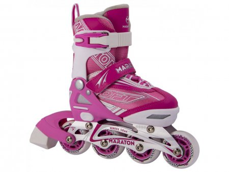 Ролики Maraton Soft XS(27-30) розовые
