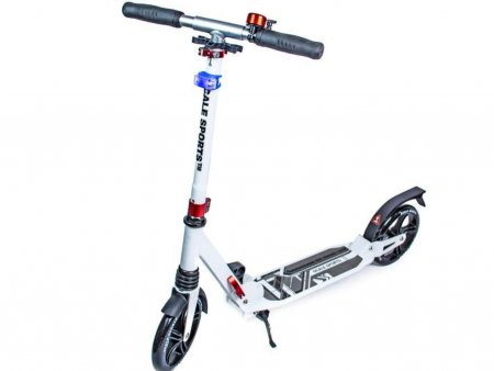 Самокат Scooter Scale Sports SS-07 White LED-ФОНАРИК