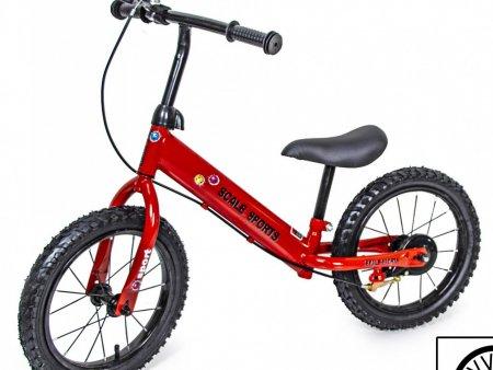 Велобег SCALE SPORTS 14 дюймов красный