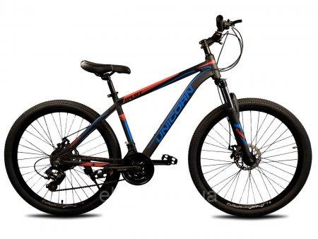 Велосипед 27.5 дюймов Unicorn Pilot черный с синим