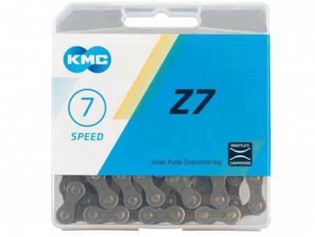 Цепь KMC 7SP Z50 СЕРАЯ/КОРИЧНЕВАЯ 1/2X3/32X116L