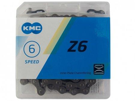 Цепь KMC 6SP Z30 КОРИЧНЕВА 1/2X3/32X116L